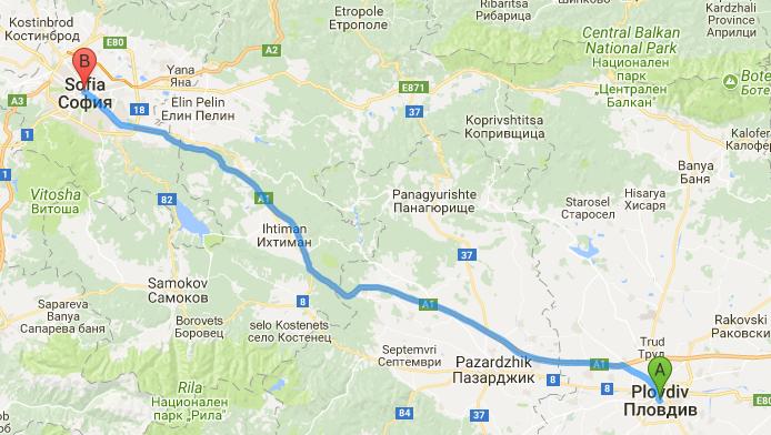 Всякакъв вид транспорт - с такси трансфер или рент а кар със шофьор София Пловдив